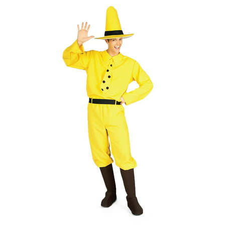 The Man with the Yellow Hat - Adult (The Man With The Yellow Hat)
