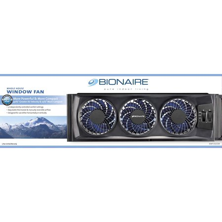 Bionaire BWF0522M Compact Window Fan with Manual Controls (1pcs)