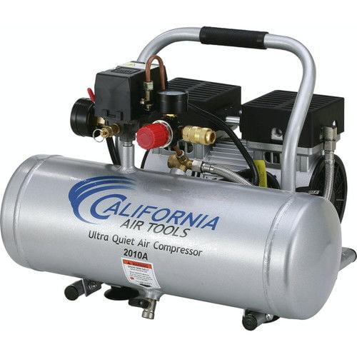 California Air Tools CAT-2010A 1.0HP 2加仑超静音铝罐空气压缩机