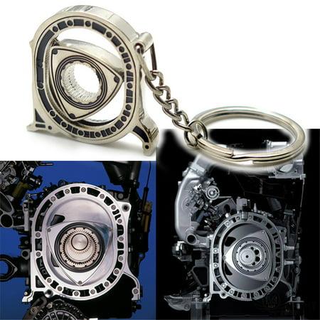 HTTMT- Motorcycle Bicycle Mazda Rotary Wankel engine Key Chain Ring Keychain Keyring [See Fitmen] Bike Chain Keychain