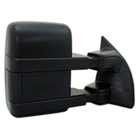 New Passenger Side Right Manual Door Mirror  W  Ambient Air Temp Sensor Included