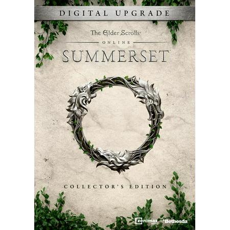 The Elder Scrolls Online: Summerset Collector's Edition Upgrade, Bethesda,  PC, [Digital Download], 685650094793