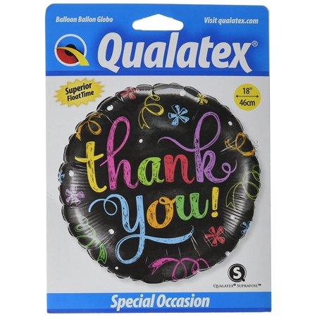 11826 Thank You Chalkboard Balloon Pack, 18