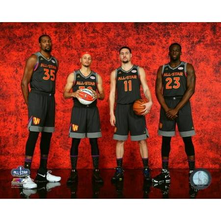 Kevin Durant Stephen Curry Klay Thompson & Draymond Green 2017 NBA All-Star Game Photo Print](Photos D'halloween 2017)