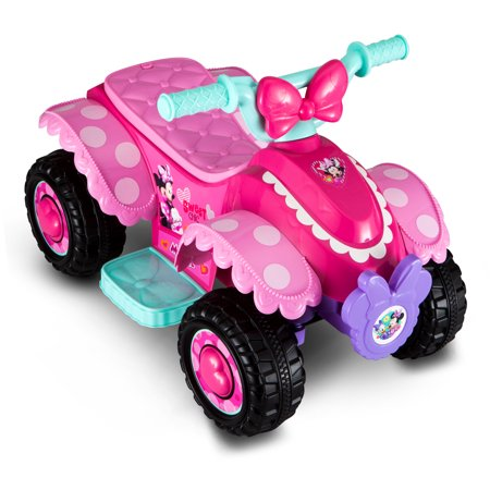 Disney Minnie Mouse Happy Helpers 6V Battery Powered Quad by PACIFIC CYCLE Inc.