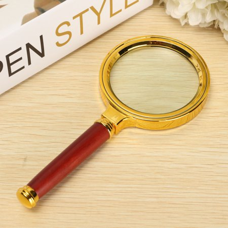 Children's Magnifying Glass (7cm Hand-hold 10X Magnifier Magnifying Glass Loupe Lens For Easy Reading Jewelry(153x70x10mm/ 6.02x2.76x0.39