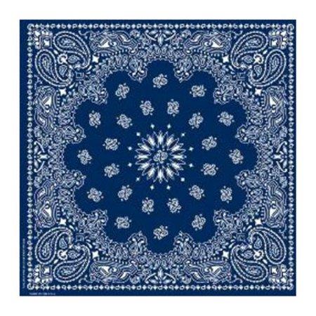 Western Bandana  Blue (Blue Bandanna)