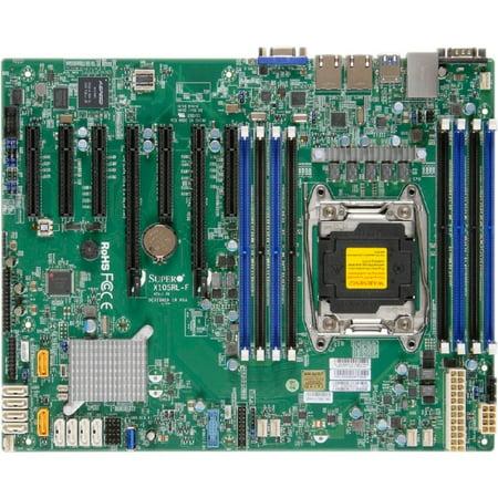 Supermicro X10SRL-F Server Motherboard - Intel C612 Chipset - Socket LGA 2011-v3 - Retail Pack - ATX - 1 x Processor Support - 512 GB DDR4 SDRAM Maximum RAM - - Atx Socket