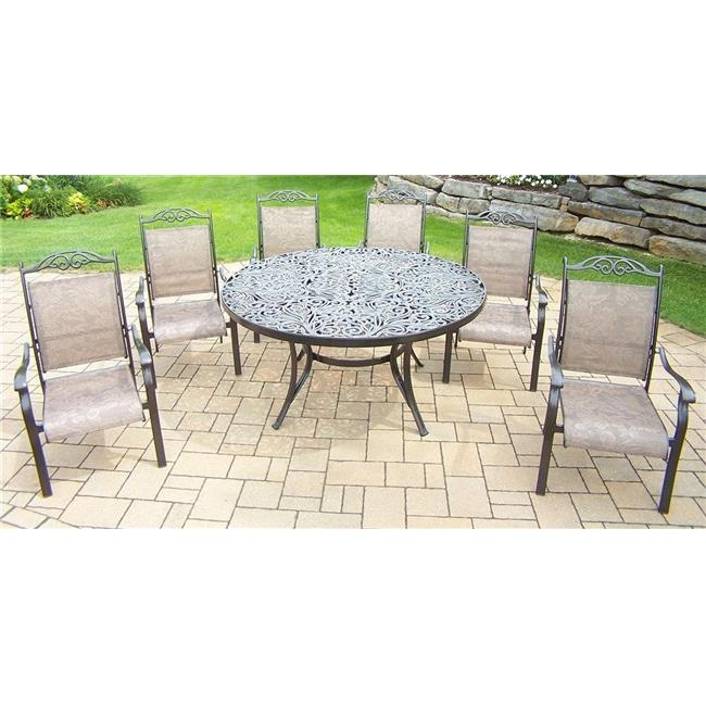 7-Pc Traditional Dining Set