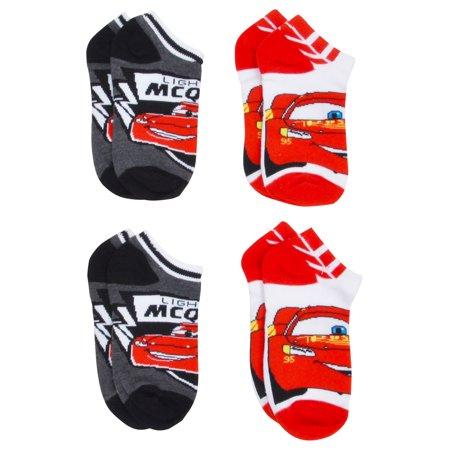 Boys Cars Lightning McQueen Anklet Socks Size 6-8 - Lightning Mcqueen Clothes