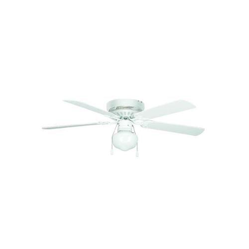Hugger Ceiling Fan in White (42 in.)