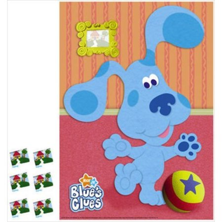 Blues Clues Halloween Party (Blue's Clues Party Game Poster)