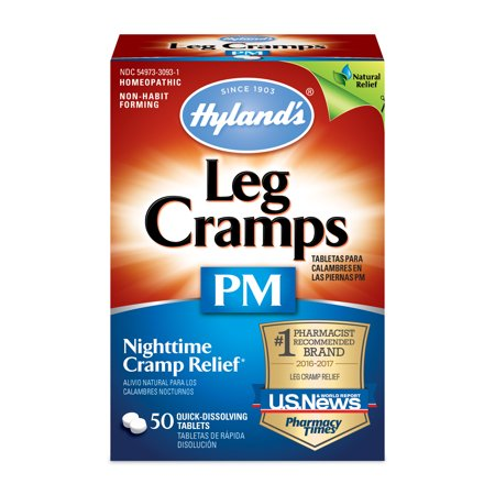 (Hyland's Leg Cramps PM With Quinine Tablets 50 ea)