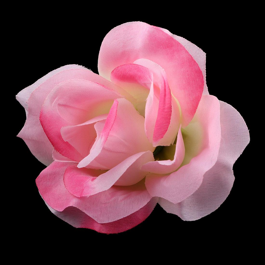 Office Bedroom Table Desk Handcraft Artificial Flower Rose Heads Decoration # 1 - image 3 of 4