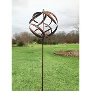 Marshall Home Corp. Blue Sphere Wind Spinner