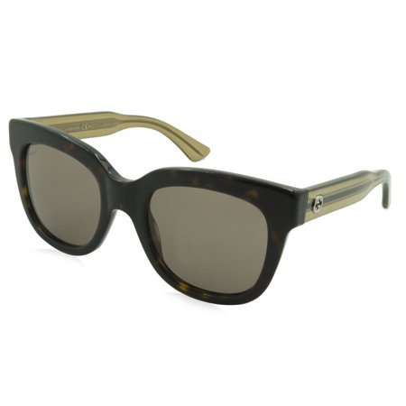 Gucci Vintage Tie - Gucci Sunglasses 3748 / Frame: Tortoise with Crystal Brown Temples Lens: Gray