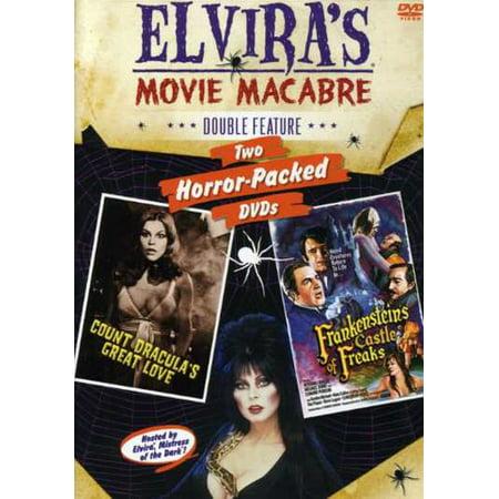 Frankenstein's Castle & Dracula's Love: Elvira's (DVD)](Halloween Dracula Castle)