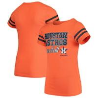 Girls Youth Orange Houston Astros Play Dri T-Shirt