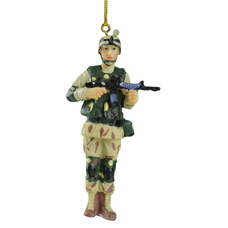New Armed Forces Ammo Army Soldier Gun Military Rifle Christmas Tree Ornament, Made with Lightweight Foam By Oxbay Ship from US