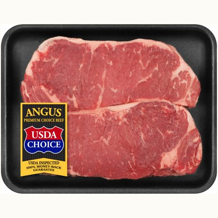 Tyson Angus Choice New York Strip Tray
