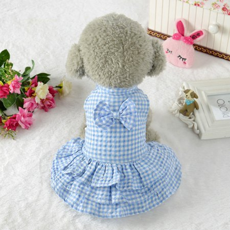 Cute Sweet Pet Puppy Dog Apparel Clothes Short Skirt Dress New