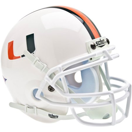 Shutt Sports NCAA Mini Helmet, Miami Hurricanes