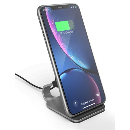 Encased Wireless Charging Stand for iPhone XR Wireless Charger (2018) - Qi Compatible Desktop Phone Power Station