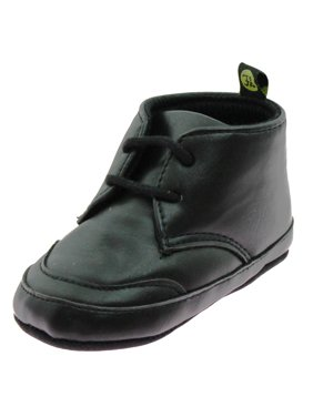 ed72ed18d9629 Product Image First Steps Baby Boys Cute Chukka Lace Up Desert Ankle Boots  Soft Sole Crib Shoes Dress