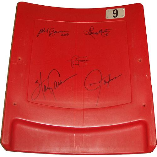 "New York Giants ""Super Bowl XXI"" 5 Signature Seatback (LE/ 100)"