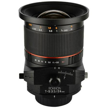 Rokinon TSL24M-S 24mm f/3.5 Tilt Shift Lens for Sony (Best Canon Tilt Shift Lens)