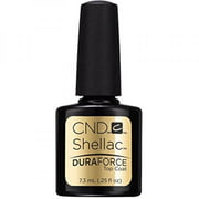 CND Shellac Gel Nail Polish, Duraforce Top Coat, 0.25 Fl Oz