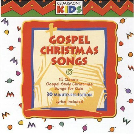 Gospel Christmas Songs (CD) - Halloween Songs Set To Christmas Music