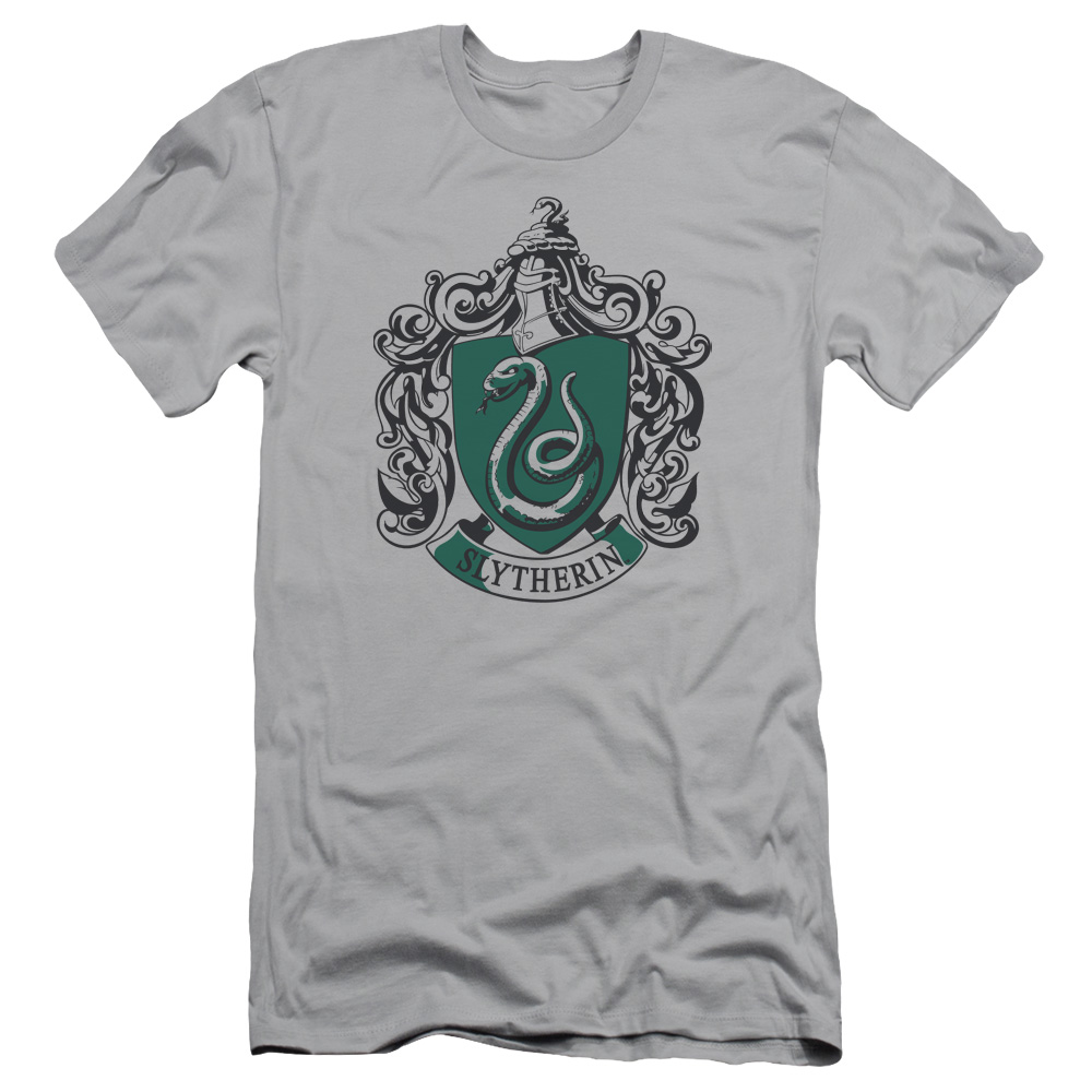 Harry Potter Slytherine Crest Mens Slim Fit Shirt