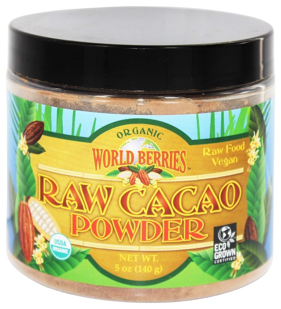FunFresh Foods - Organic Raw Cacao Powder - 5 oz(pack of 12)