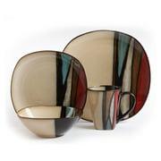 Gibson Elite Althea Stoneware Dinnerware Set, 16 Piece