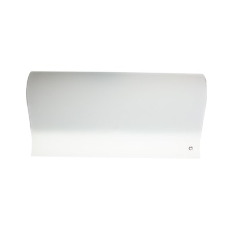 Leucos Claire P 2G11 Italian Made Modern Wall Sconce, Satin White Glass Diffuser