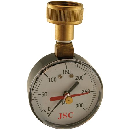 300 Psi Water Test Gauge With Indicator Partno J66301