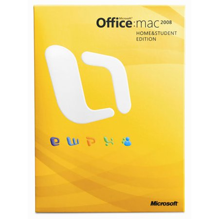 Microsoft Office for Mac Home and Student 2008 for Mac Deal