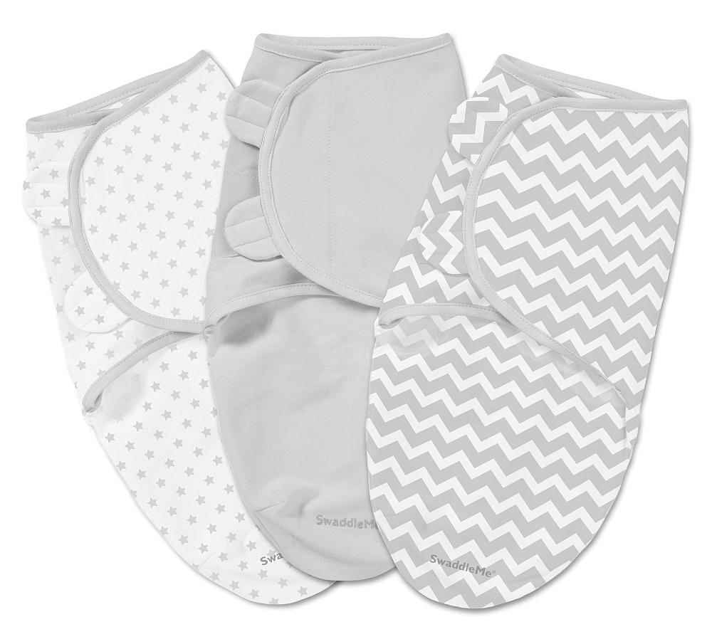 Summer Infant SwaddleMe 3 Pack Chevron, Small