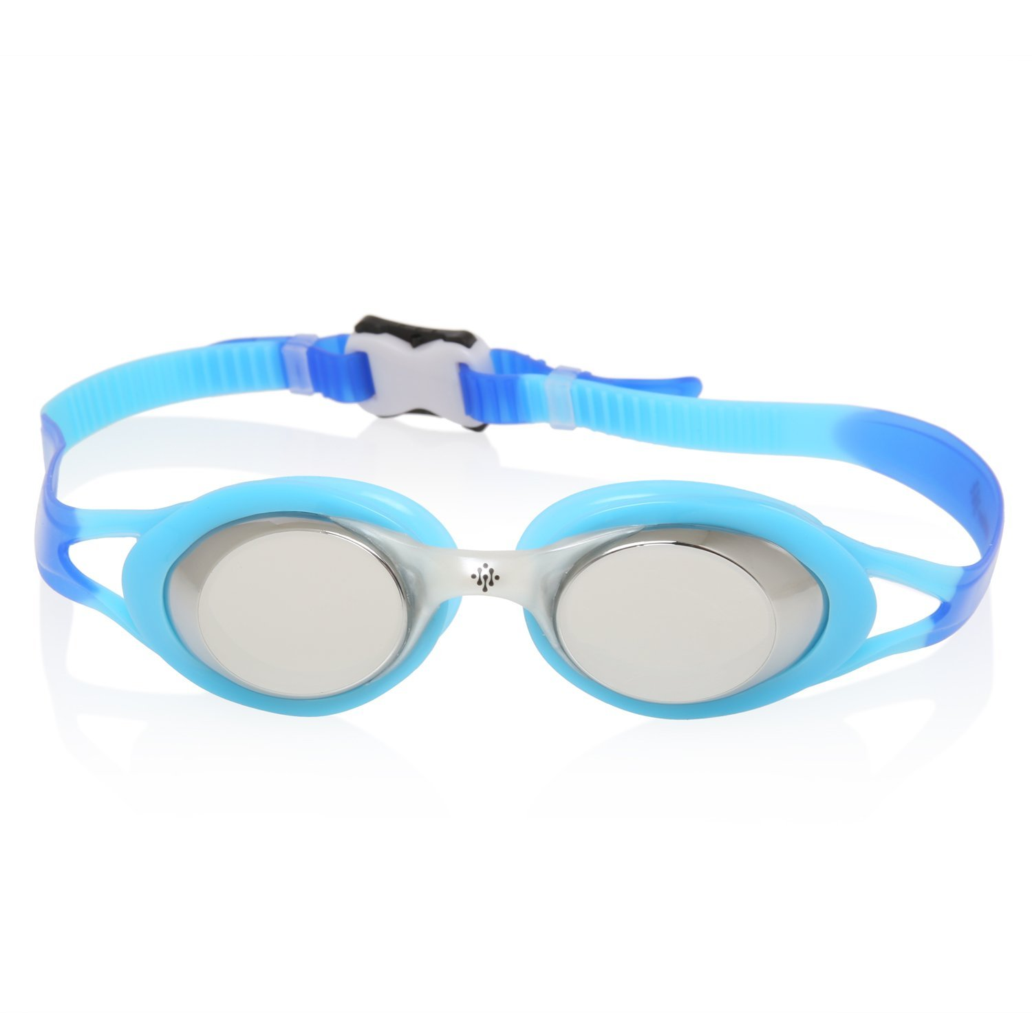 Mirrored Swim Goggles Water Sports UV Protection, Anti-Fog Swimming by Ivation