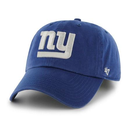 New York Giants 47 Brand NFL Royal Blue Clean Up Adjustable Hat