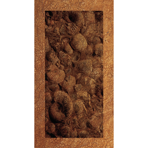 No Slip Mat by Versatraction Kahuna Grip Ocean Fossil Shower Mat