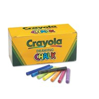 Colored Drawing Chalk Sticks 144 Ct., Manufacturer: Crayola By Crayola