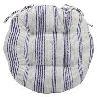 Coral Coast Beaumont Ridge Pink and Cream Round Bistro Cushion - Set of 2