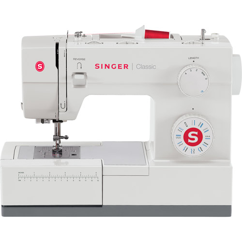 Singer 44S Classic Heavy Duty Sewing Machine - High Speed, 23 Built-In Stitch Options