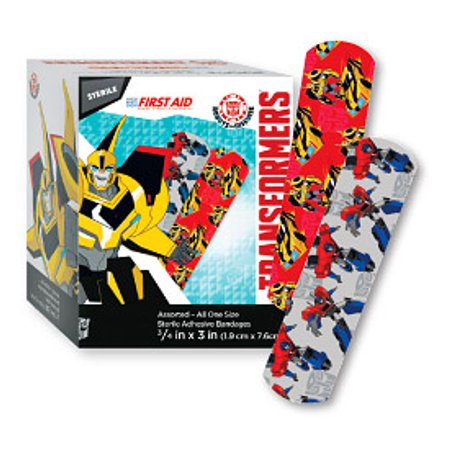 Transformers assorted all one size 3/4 in x 3in 100BX