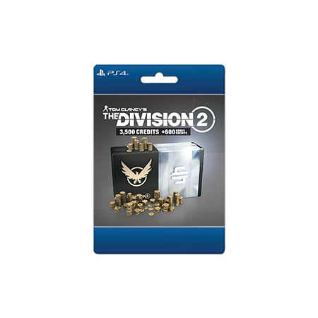 Tom Clancy's The Division 2 – 4100 Premium Credits Pack, Ubisoft, Playstation, [Digital