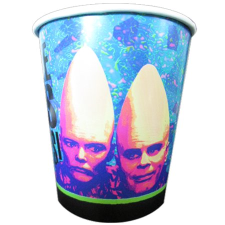 Dixie Closed Head - Cone Heads Vintage 1993 9oz Paper Cups (8ct)