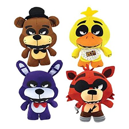 Five Nights At Freddys Plush Toy 4Pc Set 10  Stuff Animal Plush Toy  By Fnaf