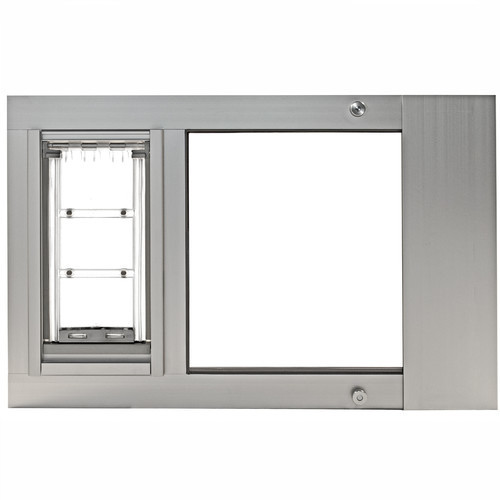 Patio Pacific - Thermo Sash 3e with Endura Flap pet door for sash windows [Satin Small - 6  x 11  flap 31  - 34  length range] - Walmart.com  sc 1 st  Walmart & Patio Pacific - Thermo Sash 3e with Endura Flap pet door for sash ...
